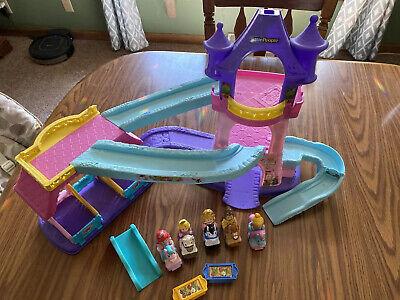 Fisher Price Little People Disney Princess Klip Klop Castle Stable 5 Horse Set