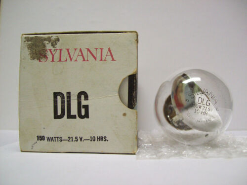 DLG (DLS DHX) Projector Projection Lamp Bulb SYLVANIA  AVG.10HR  *GLASS FLAKES*