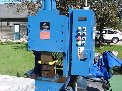 Hydraulic Press Manchester With Tooling Crimper Swager Punch Stamp Shear