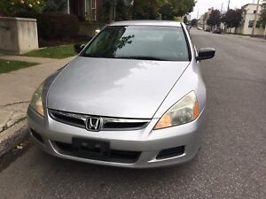 2007 Honda Accord 4cyl. Safetied and E-Tested! 112mi