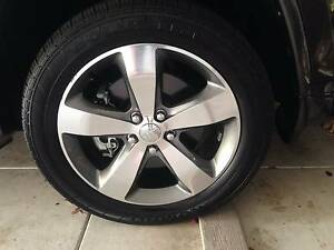 Jeep Grand Cherokee Overland 2014 rims and tyres Como South Perth Area Preview