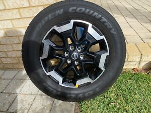 2021 navara stx rims tyres