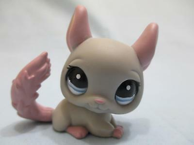 Littlest Pet Shop Chinchilla Pink and Gray 1165 Authentic Lps