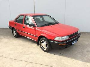 1990 Toyota Corolla CS Sedan 1.6  3M REGO+3YR WARRANTY+1YR RSA Campbelltown Campbelltown Area Preview