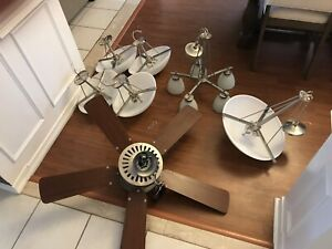 Set of 7 ceiling lights for whole house