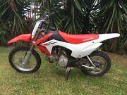 CRF 110 Honda Motorbike Mountain Creek Maroochydore Area Preview