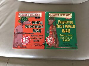 Horrible Histories Woeful 1st and Frightful 2nd World Wars Canning Vale Canning Area Preview