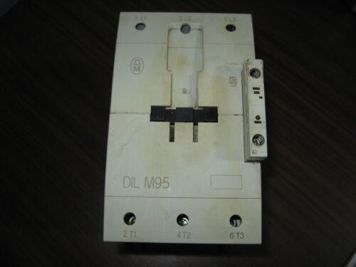 Klockner Moeller DIL M95 Contactor With 120 Volt Coil