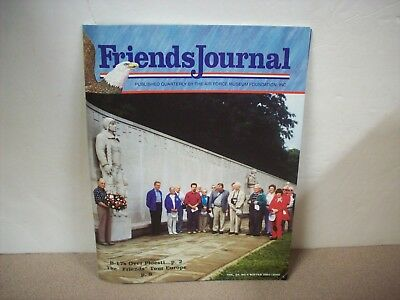 (Friends Journal (Air Force Museum) Winter 2001- 2002 Issue Magazine VOL.24 NO.4)