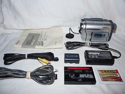 Sony DCR-TRV260 Digital8 Digital 8 Camcorder VCR Player Camera Video Transfer