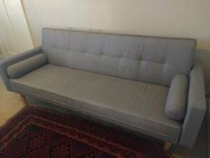 Near new mid century style sofa bed North Strathfield Canada Bay Area Preview