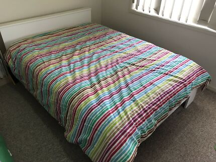 Double bed and mattress bargain