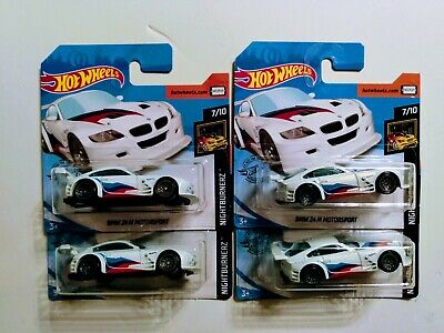 BMW Z4 M Motorsport #172 2020 Hot Wheels J Case Lot of 4 HTF Short Cards