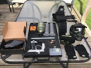 Selling all my paintball gear!