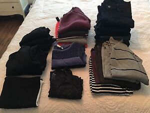 28 piece maternity clothing lot