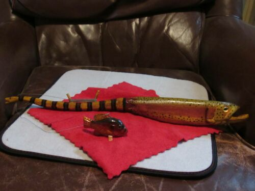 Bob Foster Coral Snake/ Rainbow / sunfish jig stick