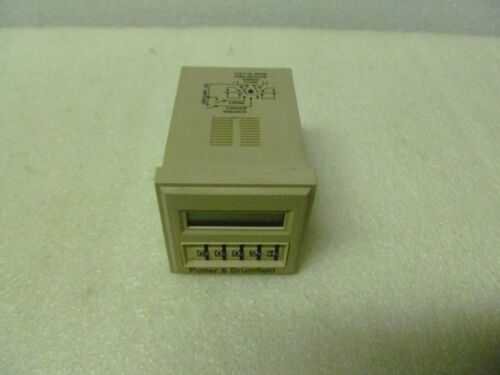 POTTER & BRUMFIELD CNT-35-96 PROGRAMMABLE MULTIFUNCTION TIME DELAY RELAY/COUNTER