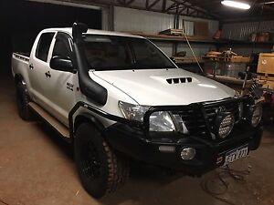 2015 SR HILUX DUAL CAB UTE 4x4 Port Hedland Port Hedland Area Preview