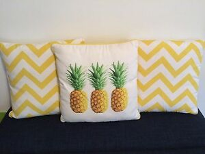 Cushion set of 3 Adamstown Newcastle Area Preview