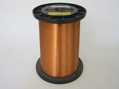 32 Awg  26 Lbs. Ppe Invemid 200 Single Enamel Coated Copper Magnet Wire