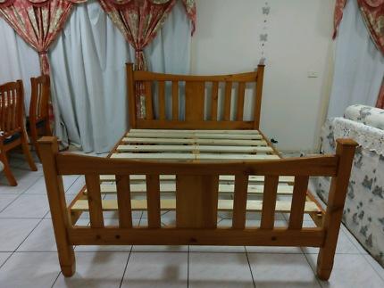 Free deliver excellent condition queen bed frame