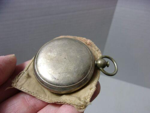 Vintage Wittnauer Field Compass w/ cloth case