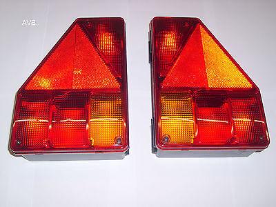 Aspöck Earpoint 1 Rückleuchte rechts & links #872#