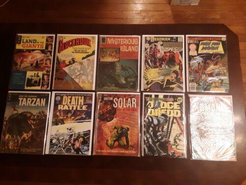 Lot of 10 1960s & 1970s Sci-Fi and Horror Comics Deadman Strange Adventures DC