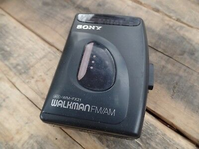 Sony Walkman WM-FX21 Radio Cassette Player. Tested and WORKING for sale  Shipping to India