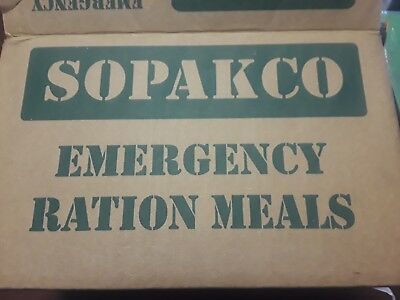 SOPAKCO MRE 's 14 Pack ~ Military Style Ready to Eat Emergency MEALS  ~ 09/18