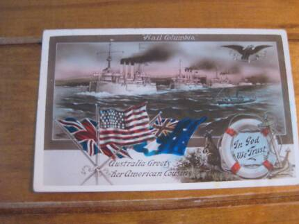 US Fleet Visit to Australia 1908-Welcome to Our American Comrades