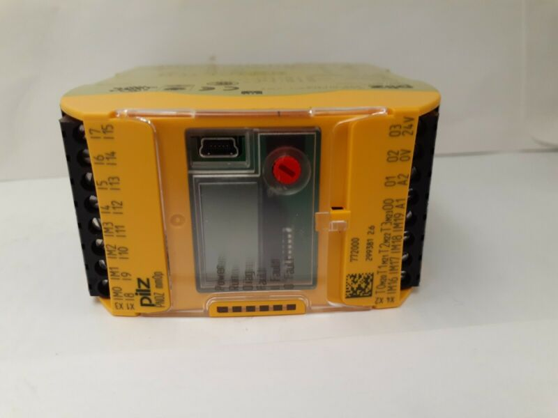 Pilz 772000 New No Box Safety Relay Controller