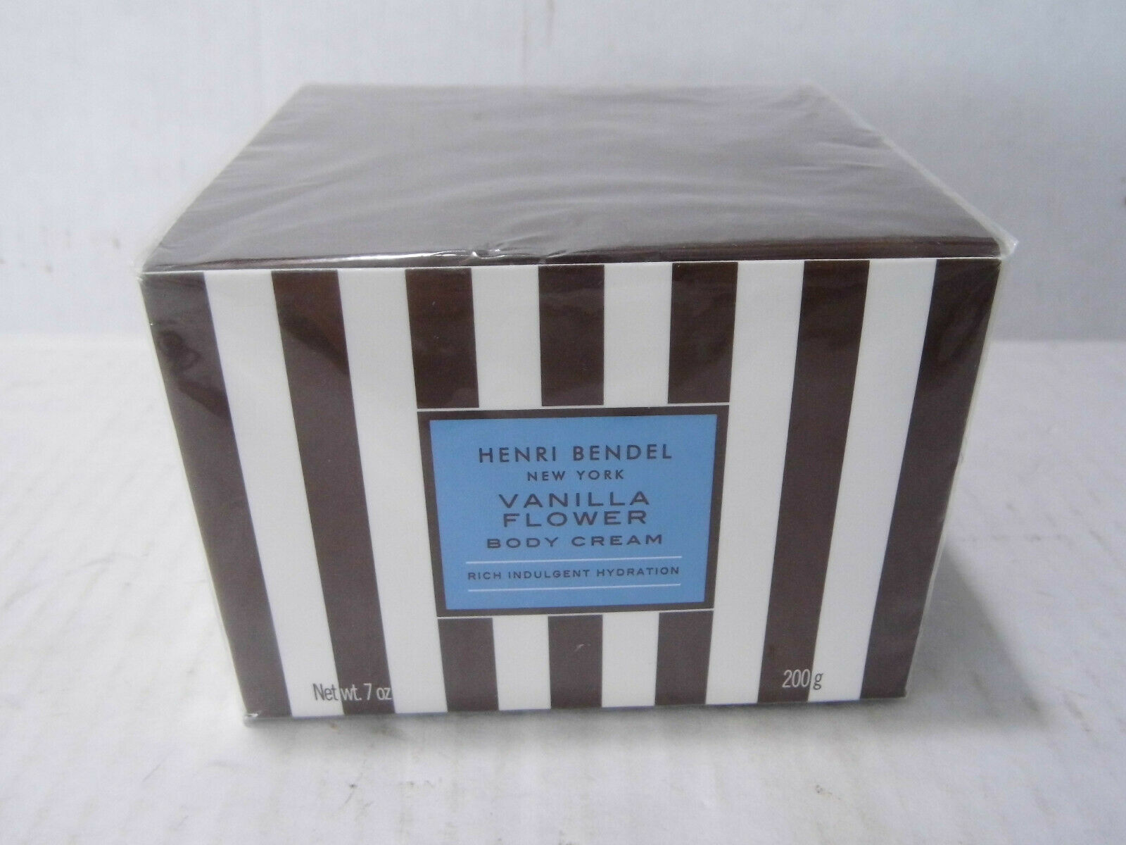 HENRI BENDEL Vanilla Flower Body Cream 7oz NEW SEALED Retired