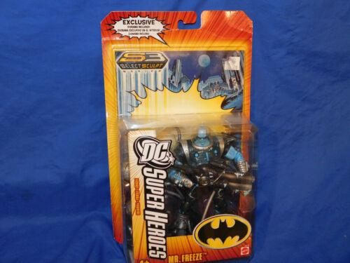 DC Universe SuperHeroes Super Heroes S3 Select Sculpt Mister Mr Freeze