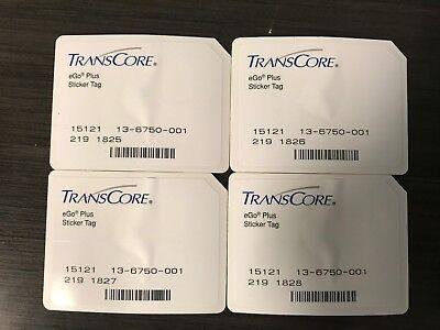 Transcore Ego Plus Mini Sticker Rfid Tag 25 Pk