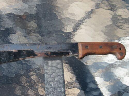 USA OLD VTG WWII CASE XX PILOTS BAILOUT SURVIVAL MACHETE BOLO KNIFE BLADE GUARD