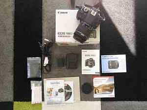 Canon 100D DSLR  kit w/ 18-55mm lens - As New Condition Turramurra Ku-ring-gai Area Preview