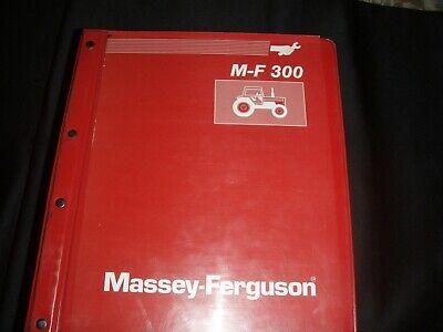 Massey Ferguson Shop Service Manual 300 Tractors And Operator Manual  42