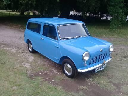 1968 Austin Mini Panelvan