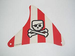 Lego voile bateau pirate t te de mort 18x15 cm evil - Voile bateau pirate ...