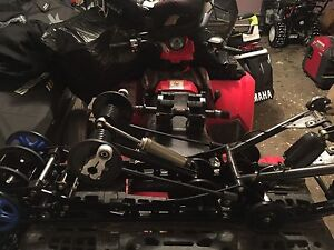 2014 Yamaha viper ltx complete skid, track and drive gear