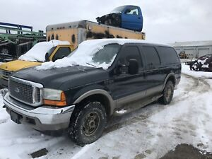 2000 ford excursion part out or sell whole