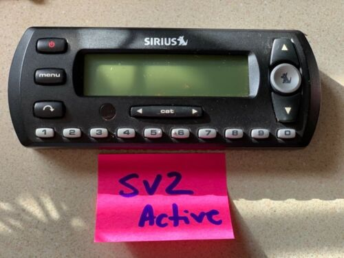 Sirius SV2 Activated Receiver Only