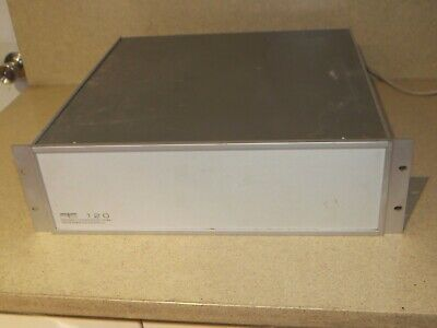 Programmed Test Sources Pts 120 Frequency Synthesizer Model 120rkn D