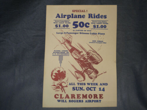 Inman Bros. Flying Circus Poster