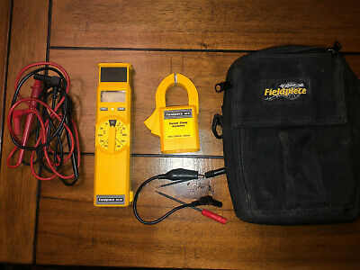 Fieldpiece Hs26 Digital Stick Multimeter With Ach 300aac Clamp Leads And Case