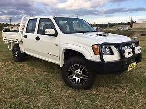 2010 Holden Colorado LX 4x4 Crewcab/Dualcab Traytop Turbo Diesel. Inverell Inverell Area Preview