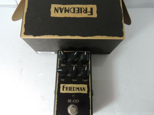 Friedman Amplification BE-OD Brown Eye Overdrive Effects Pedal Free USA Ship