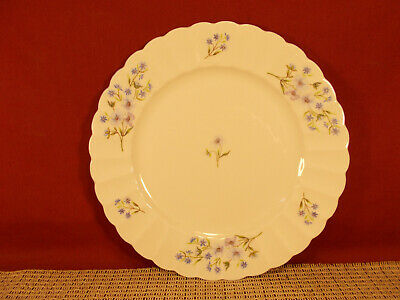 Shelley Fine China Blue Rock (Fluted) Pattern Salad Plate 8 1/8