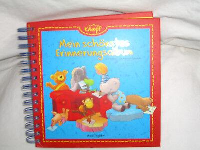 9 x Mein schönstes Erinnerungsalbum Mein Freund Knopf   Freundebuch neu